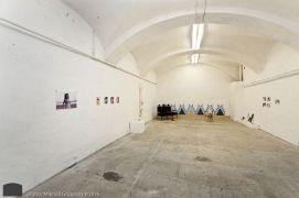 Installation shot from LUDA exhibit with works by Marianne Darlén Solhaugstrand, Tanja Thorjussen, Amelia Beavis-Harrison, Thale Fastvold